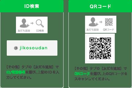 ID検索とQRコード