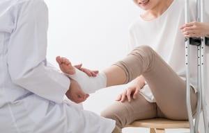 【必見】足首・足指の骨折・捻挫が交通事故の後遺症と認定されるための基礎知識